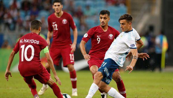 El partido entre Argentina y Catar - Sputnik Mundo