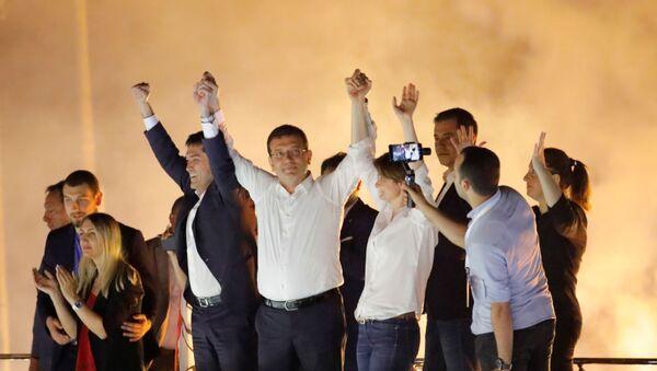 Ekrem Imamoglu, candidato del opositor Partido Republicano del Pueblo (CHP) de Turquía - Sputnik Mundo
