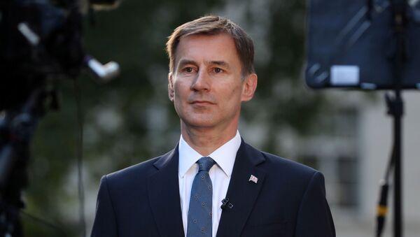 Jeremy Hunt, canciller del Reino Unido - Sputnik Mundo