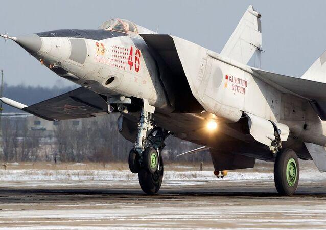 Un MiG-25