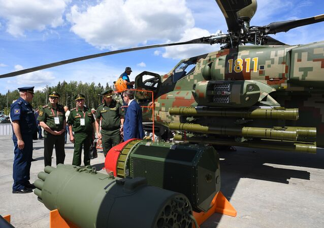 Helicópteros rusos en el foro Army 2019
