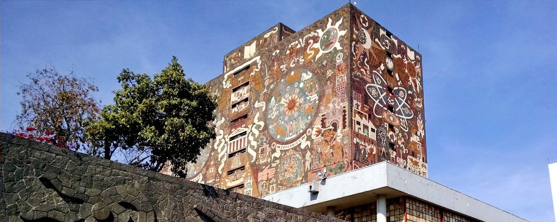 La Universidad Nacional Autónoma de México (UNAM) - Sputnik Mundo, 1920, 12.04.2021