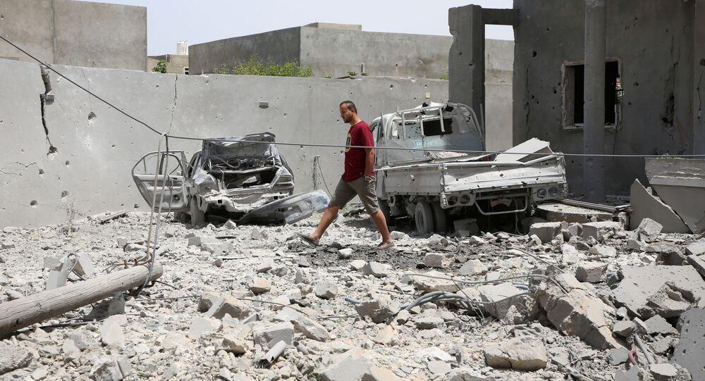 Situación en Trípoli, Libia