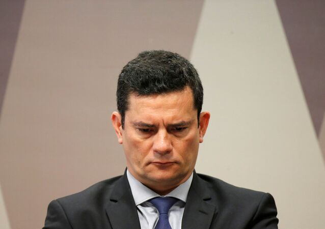 Sérgio Moro, ministro de Justicia del Gobierno brasileño