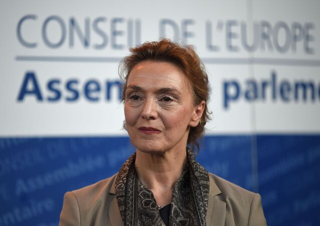 Marija Pejcinovic Buric, vice primera ministra y ministra de Asuntos Exteriores y Europeos de Croacia