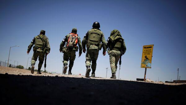 La Guardia Nacional de México en la frontera norte - Sputnik Mundo