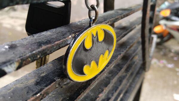 Llavero con el escudo de Batman - imagen referencial - Sputnik Mundo