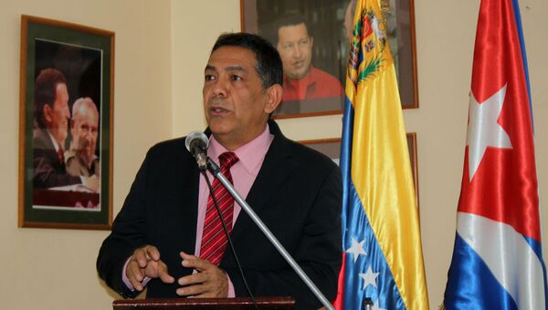 William Castillo, vicecanciller de Venzuela  - Sputnik Mundo
