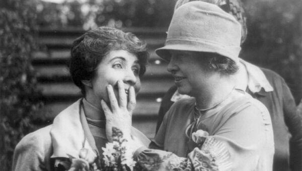 Helen Keller - Sputnik Mundo