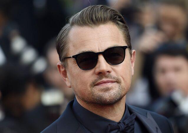 Leonardo DiCaprio en el Festival de Cannes