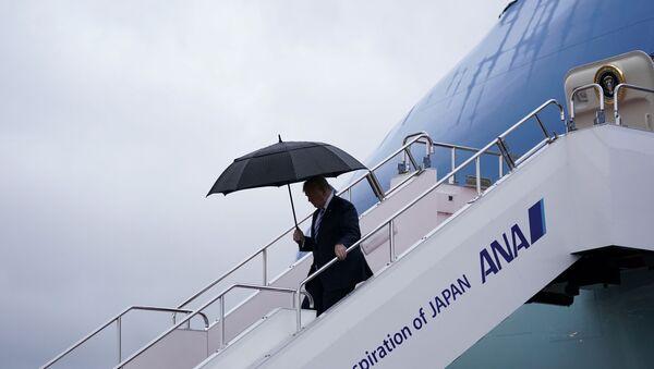 Donald Trump, presidente de EEUU en Osaka, Japón - Sputnik Mundo