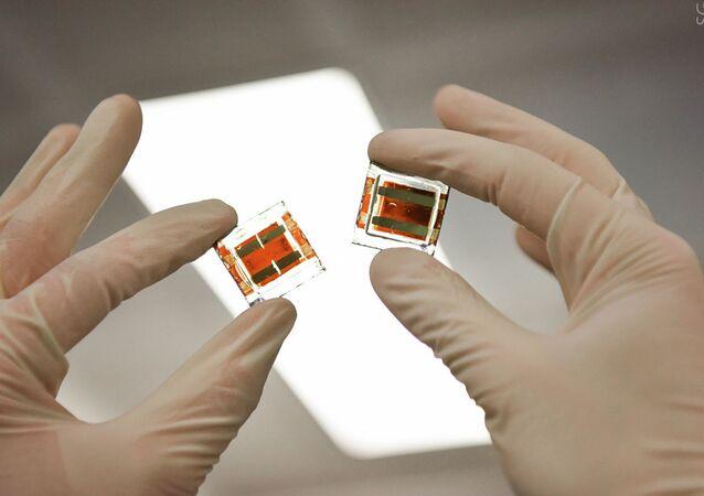Elementos solares de perovskita con yoduro de cobre en el laboratorio de la MISIS