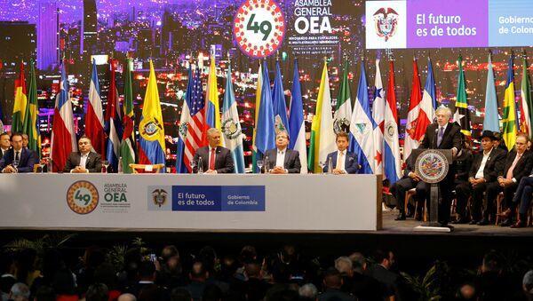 La 49 Asamblea General de la OEA - Sputnik Mundo