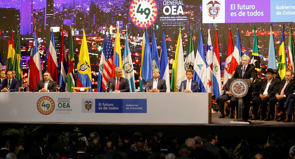 La 49 Asamblea General de la OEA