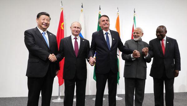 Los líderes de las 20 potencias mundiales se reúnen en Osaka  - Sputnik Mundo