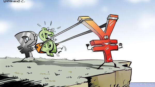 Rusia y China, listos  para 'expulsar' el dólar del comercio bilateral  - Sputnik Mundo
