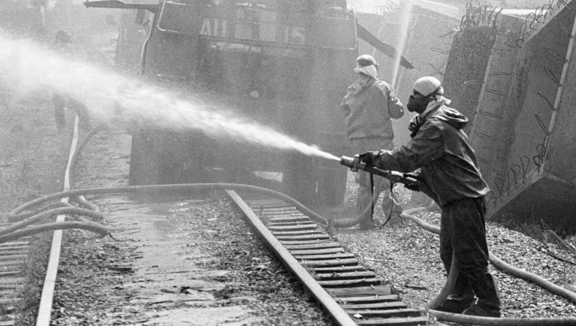 Historia de valentía: el ciudadano de la URSS de raza negra que tomó parte en Chernóbil - Sputnik Mundo, 1920, 28.06.2019