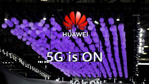 Presentación de la tecnología 5G de Huawei (archivo) - Sputnik Mundo
