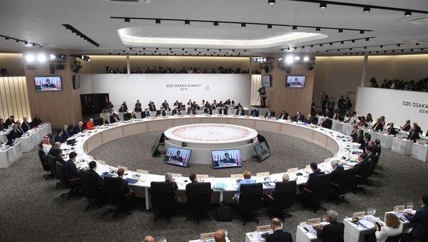 La cumbre el G20 en Osaka, Japón - Sputnik Mundo