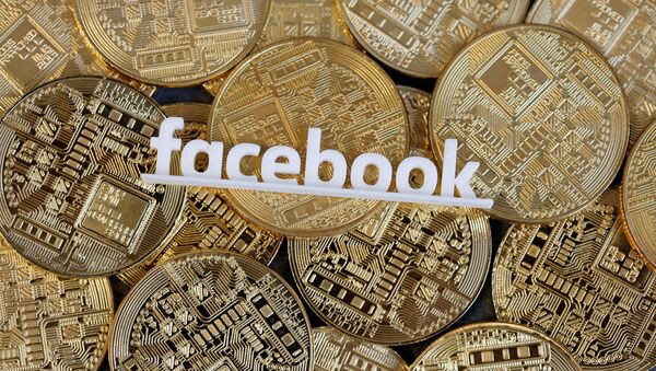El logo de Facebook  - Sputnik Mundo