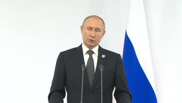 Pragmática: así definió Putin su reunión con Trump durante el G20 - Sputnik Mundo