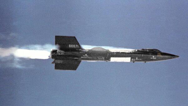 El X-15, un avión espacial de EEUU - Sputnik Mundo
