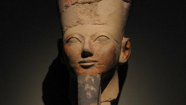 La cabeza de Hatshepsut - Sputnik Mundo