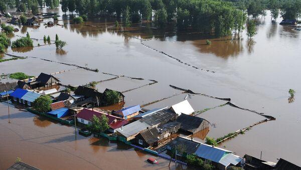 Inundaciones en Siberia - Sputnik Mundo