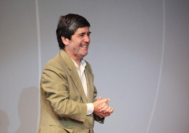 El cineasta chileno Sebastián Alarcón (archivo)