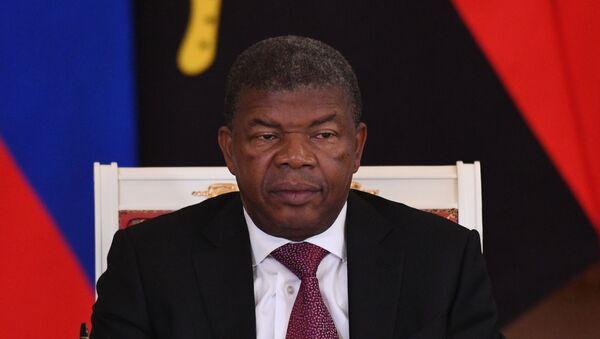 João Manuel Gonçalves Lourenço, presidente de Angola - Sputnik Mundo
