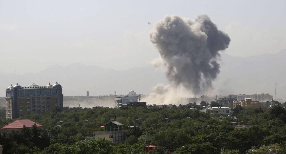 Explosión en Afganistán (archivo)