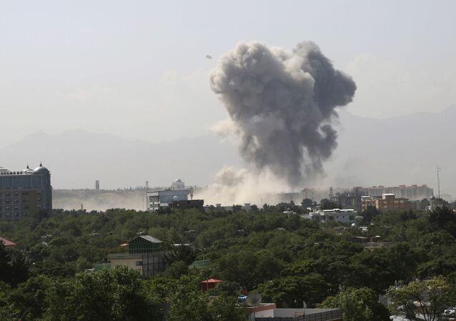 Explosión en Kabul, Afganistán (archivo)