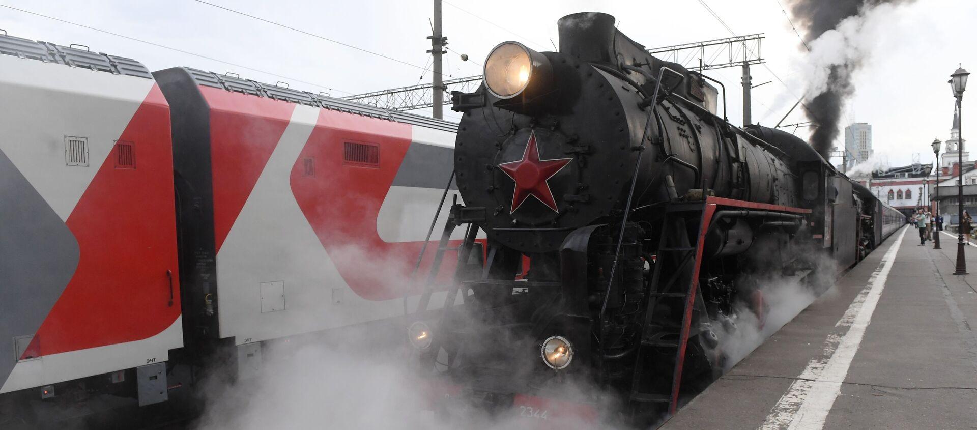 El tren Rusia Imperial - Sputnik Mundo, 1920, 01.07.2019