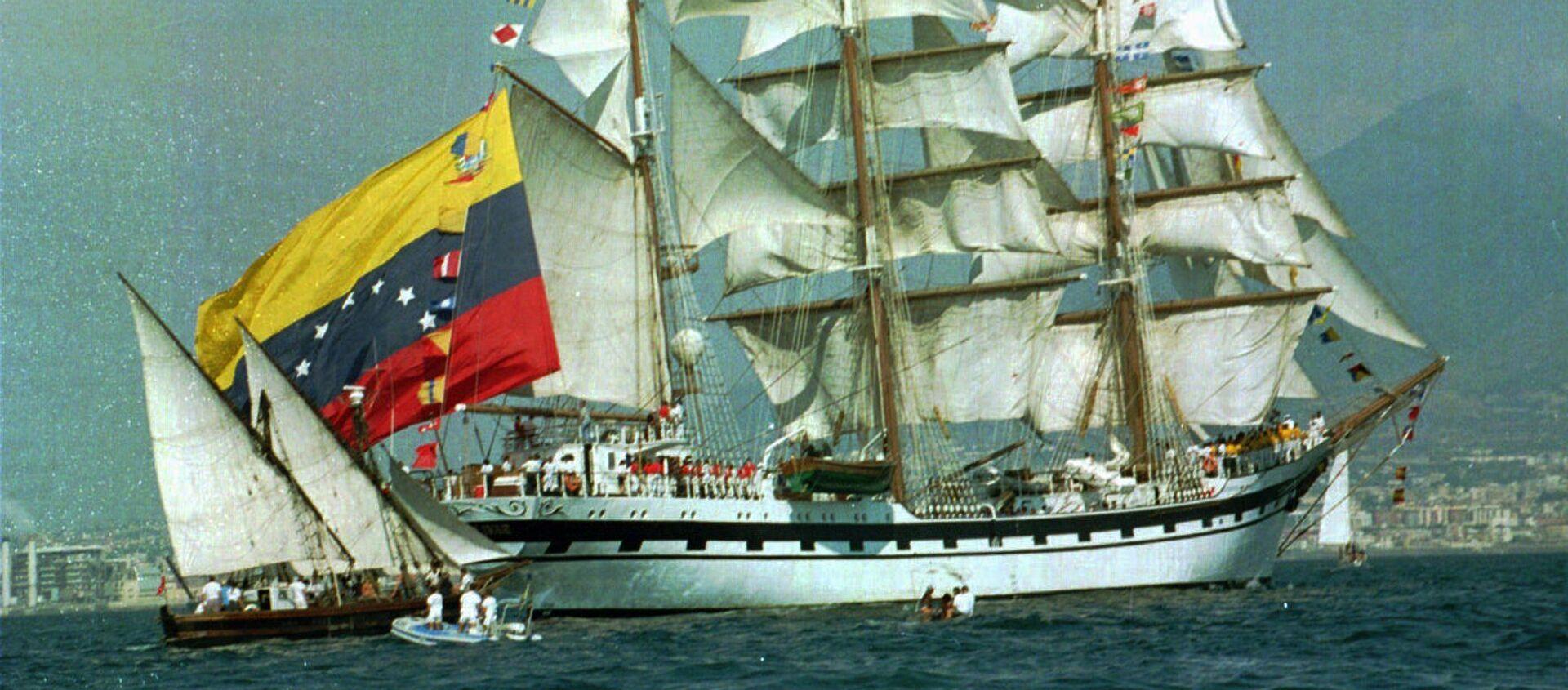 Un barco con la bandera de Venezuela (archivo) - Sputnik Mundo, 1920, 01.07.2019
