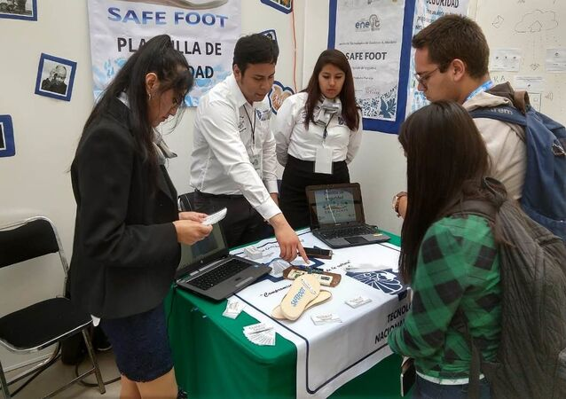 Alumnos del Tecnológico Nacional de México campus Gustavo A. Madero, creadores de SafeFoot