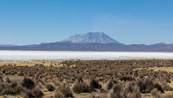 El volcán Ubinas, Perú - Sputnik Mundo