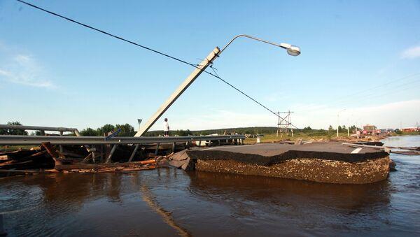 Inundaciones en la región rusa de Irkutsk - Sputnik Mundo
