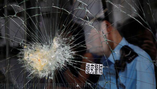 Consecuencias de los disturbios en Hong Kong - Sputnik Mundo