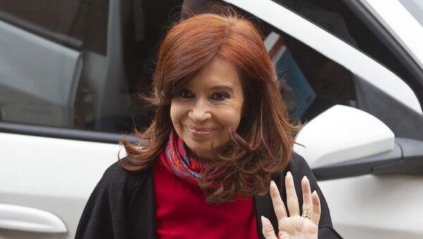 Cristina Fernández, expresidenta de Argentina - Sputnik Mundo