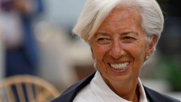 Christine Lagarde, directora gerente del FMI  - Sputnik Mundo