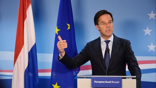 Mark Rutte, primer ministro de los Países Bajos - Sputnik Mundo