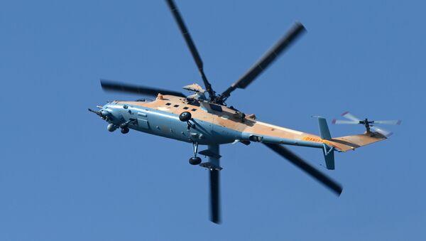 Ударно-транспортный вертолет Ми-35М - Sputnik Mundo