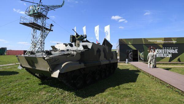Transporte blindado BT-3F - Sputnik Mundo