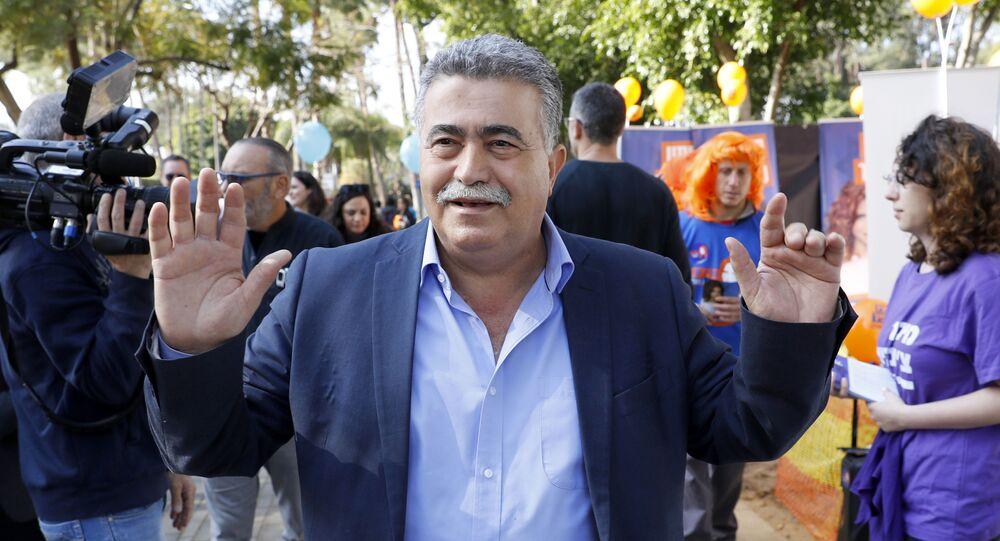 Amir Peretz, diputado laborista israelí
