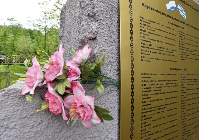 Homenaje a los marineros rusos fallecidos