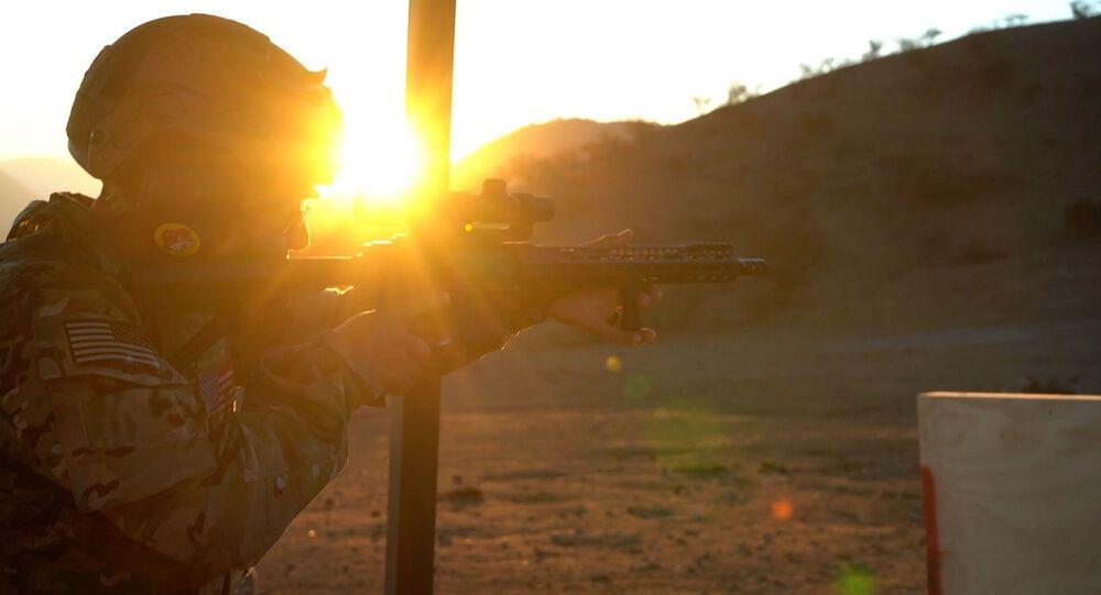 Un soldado de EEUU (imagen referencial)