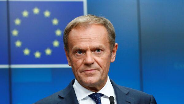 El presidente saliente del Consejo Europeo, Donald Tusk - Sputnik Mundo