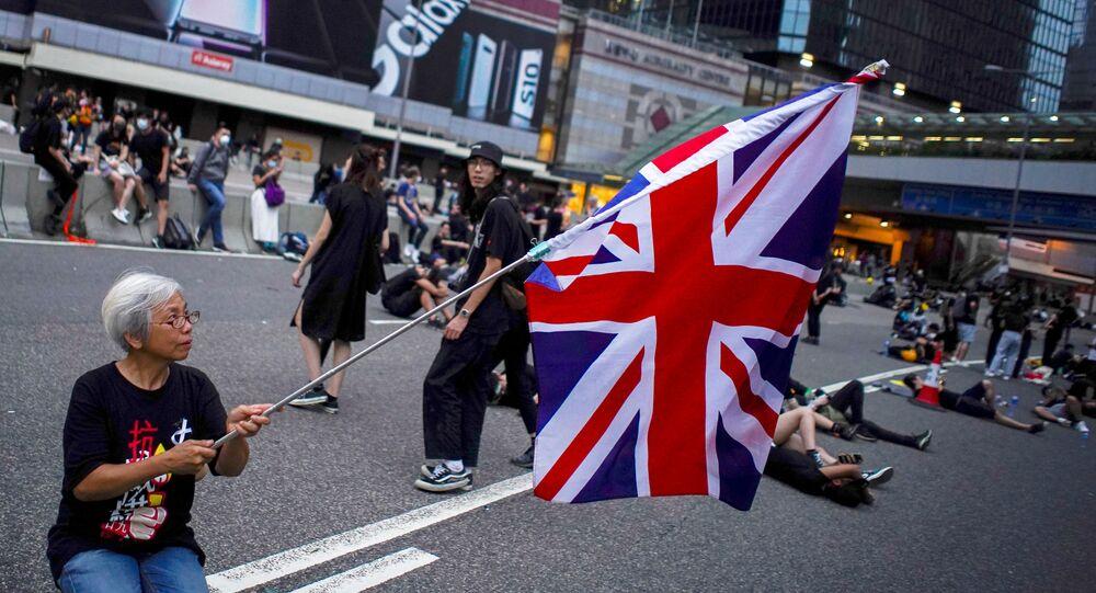Las protestas en Hong Kong