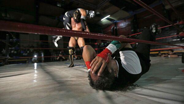 Lucha libre mexicana, foto de archivo - Sputnik Mundo