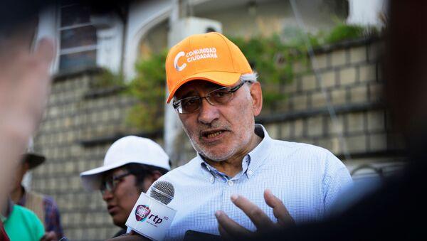 Carlos Mesa, expresidente de Bolivia - Sputnik Mundo